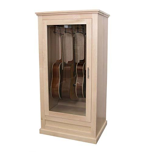 Acoustic Guitar Humidor with Humidifier System