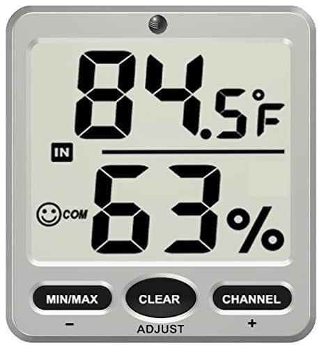 Ambient Weather WS-07-C Wireless Thermo-Hygrometer