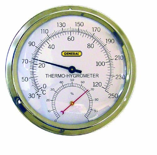 High-Temperature Analog Thermo-Hygrometer