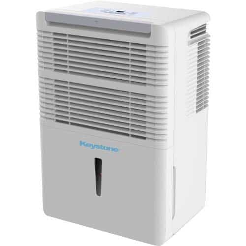 Keystone KSTAD50B Energy Star 50-Pint Portable Dehumidifier