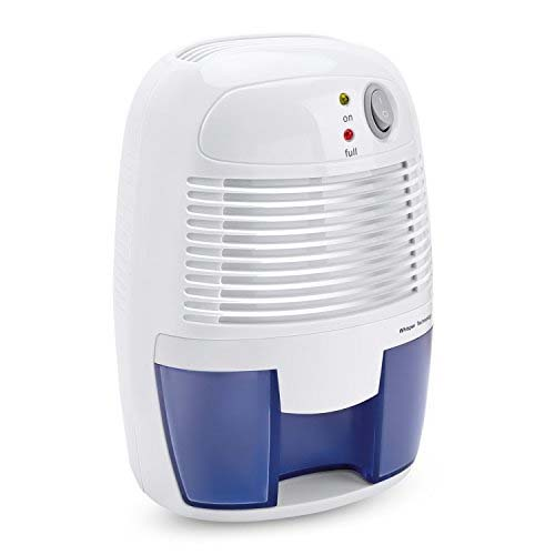 LUOYIMAN White Electric Mini Portable Air Dehumidifier
