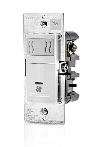 Leviton Humidity Sensor and Fan Control