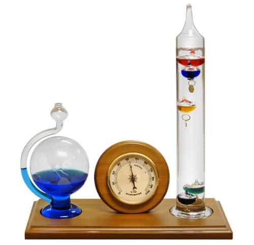 Lily's Home Analog Weather Station