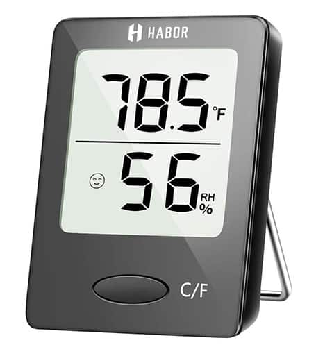 Habor Digital Hygrometer Indoor Thermometer