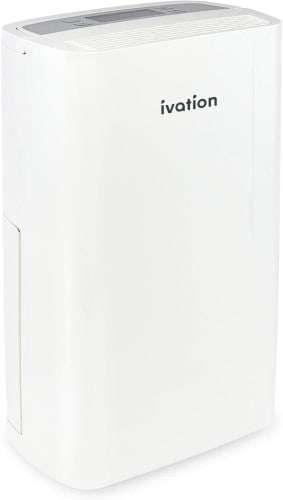 Ivation 14.7 Pint Small-Area Compressor Dehumidifier
