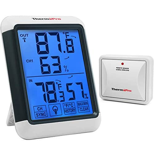 ThermoPro TP65 Digital Wireless Hygrometer Thermometer