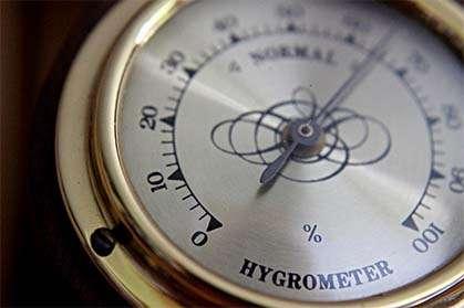analog hygrometer humidity meter