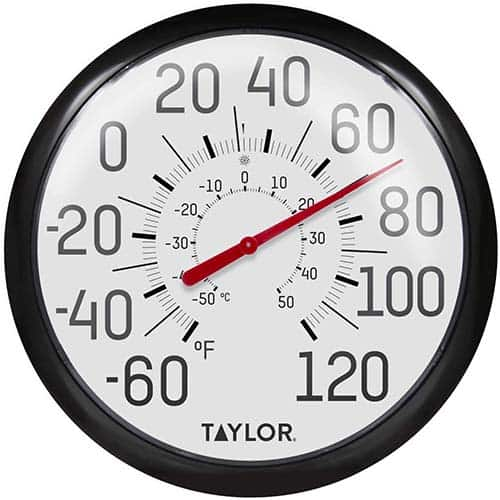 Taylor Precision Products 6700 Big and Bold Wall Thermometer