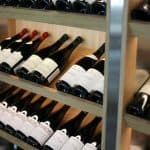 wine fridge with humidity control