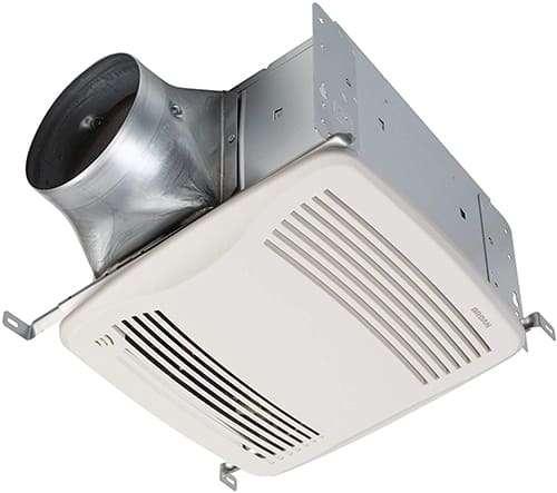 Broan NuTone QTXE110S Ultra-Silent Humidity Sensing Ventilation Fan
