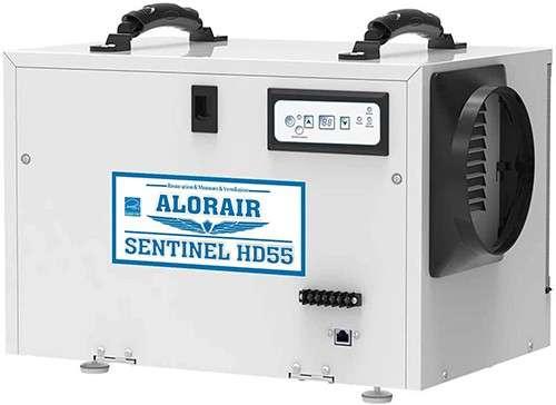 ALORAIR 55 Pint Basement/Crawl Space Dehumidifier